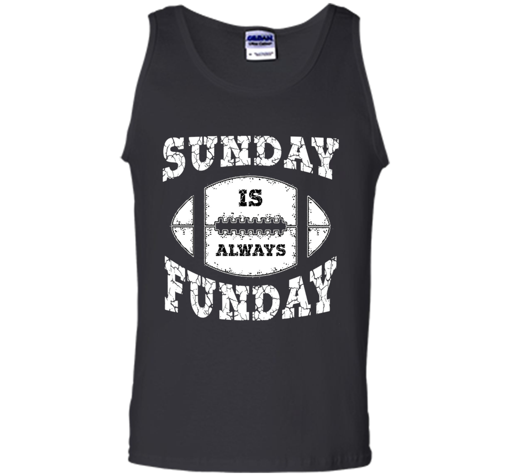 Vintage Sunday Is Always Funday Football T-Shirt Sports t-shirt