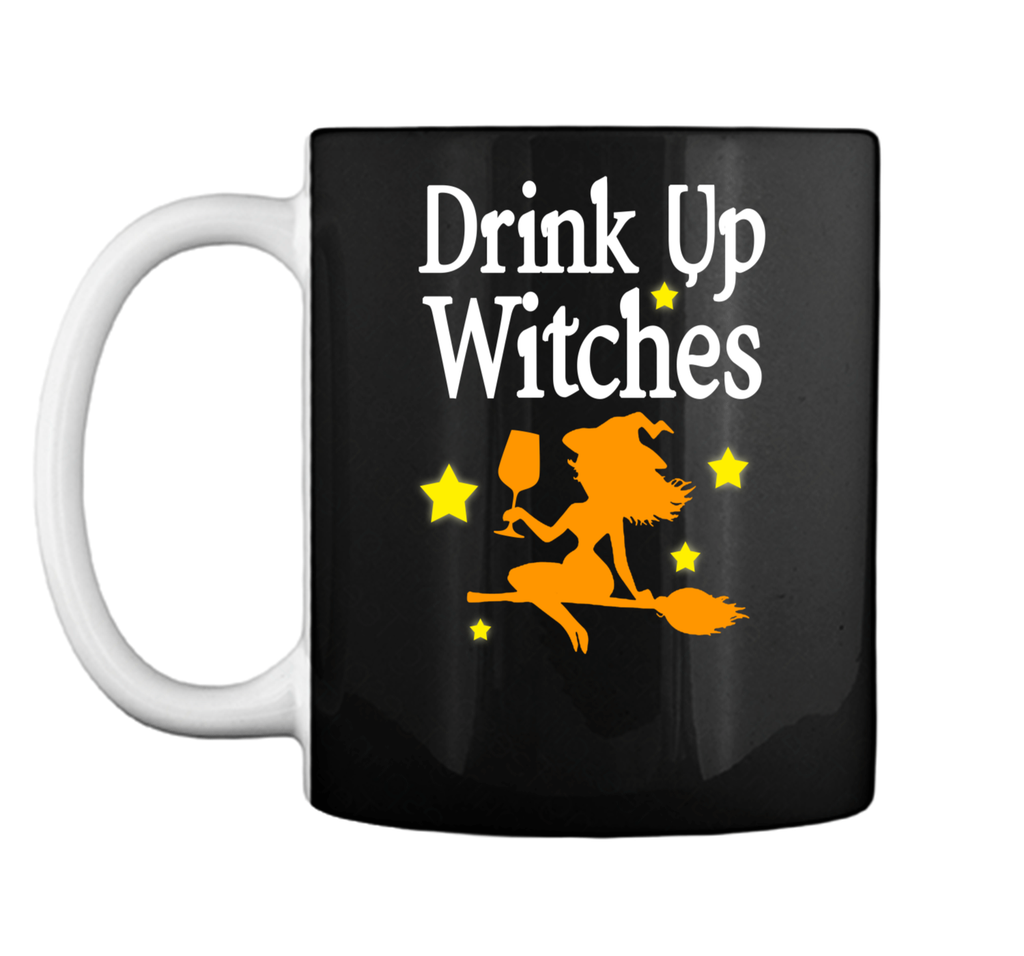 Drink Up Witches Funny Halloween Mug
