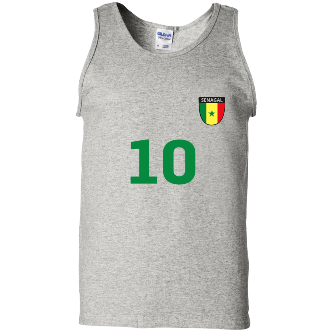 c94e1295e5f Senegal Soccer Jersey World Football 2018 Fan Cotton Tank Top T ...
