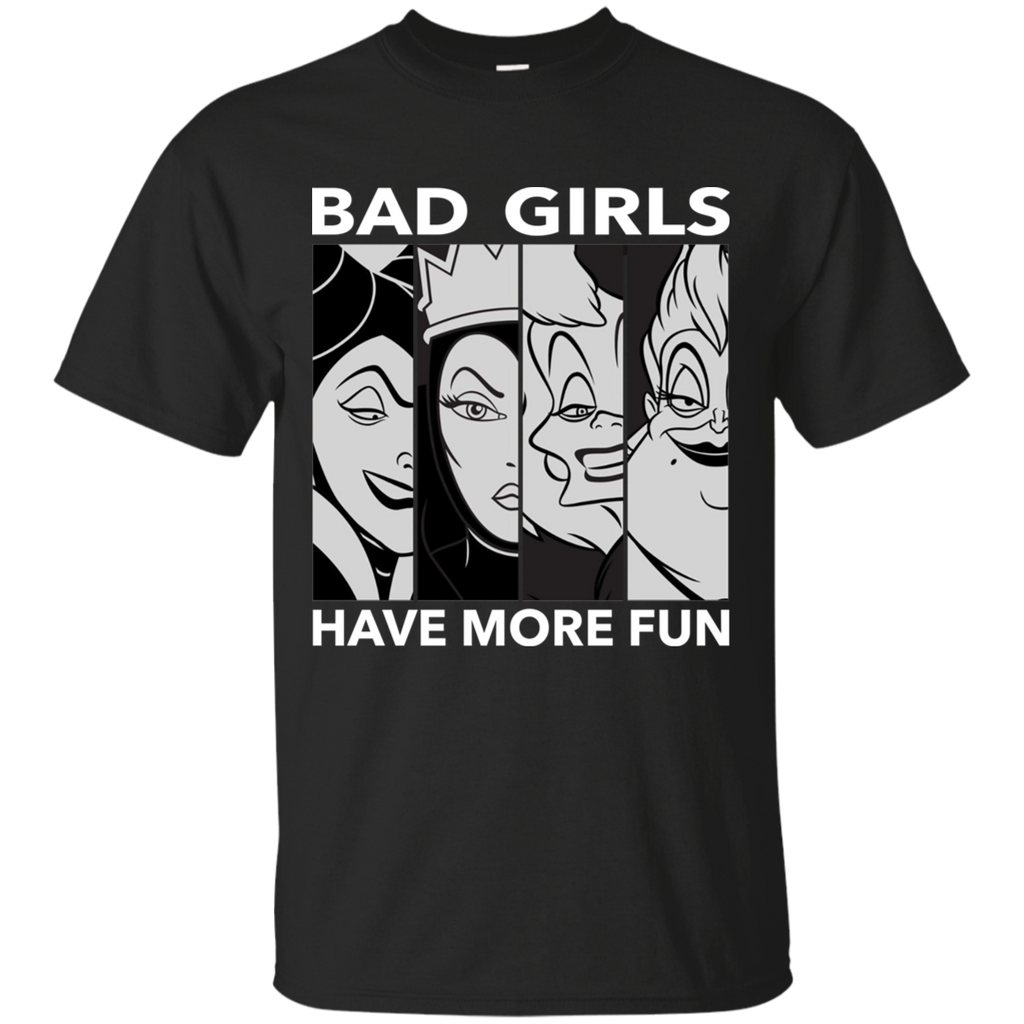 Disneys Villains Bad Girls Ultra Cotton T-Shirt