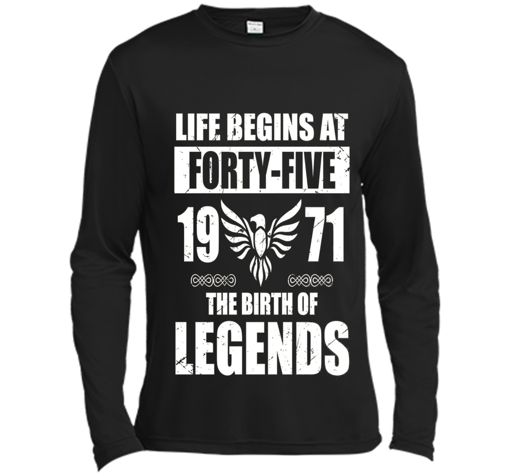 Life Begins At 45, 1971 The Birth Of Legends, Birthday Gifts