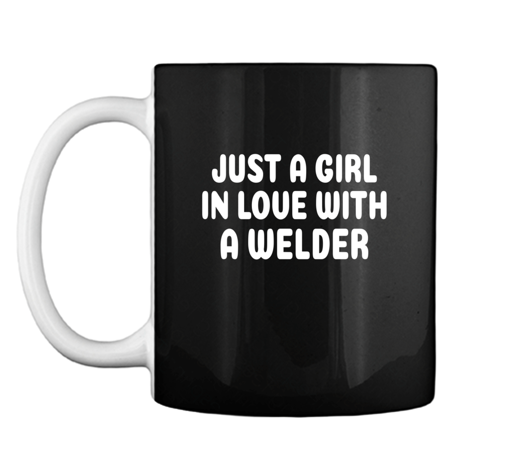 Girl In Love With A Welder Welding Women Mug