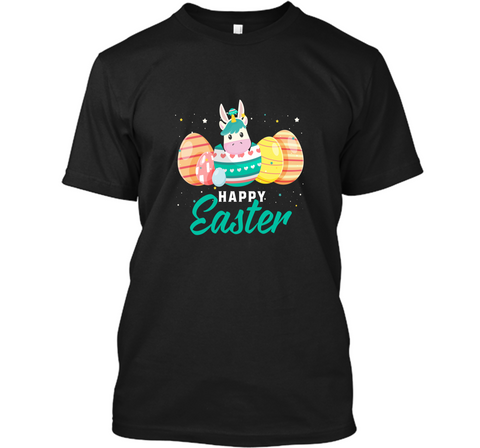 Happy Easter Unicorn Shirt Custom Ultra Cotton