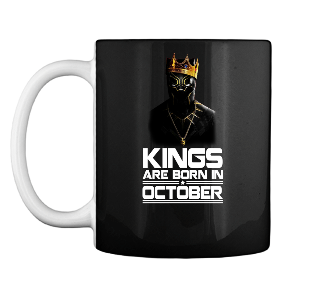 Kings Are Born October Mug