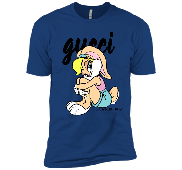 e67d424ca37 Lola Bunny Gucci T-Shirt Black Next Level Premium Short Sleeve Tee – Pin My  Tees