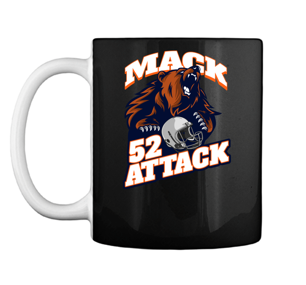 Mack 52 Attack Bear Beast Chicago Welcome New Player Mug