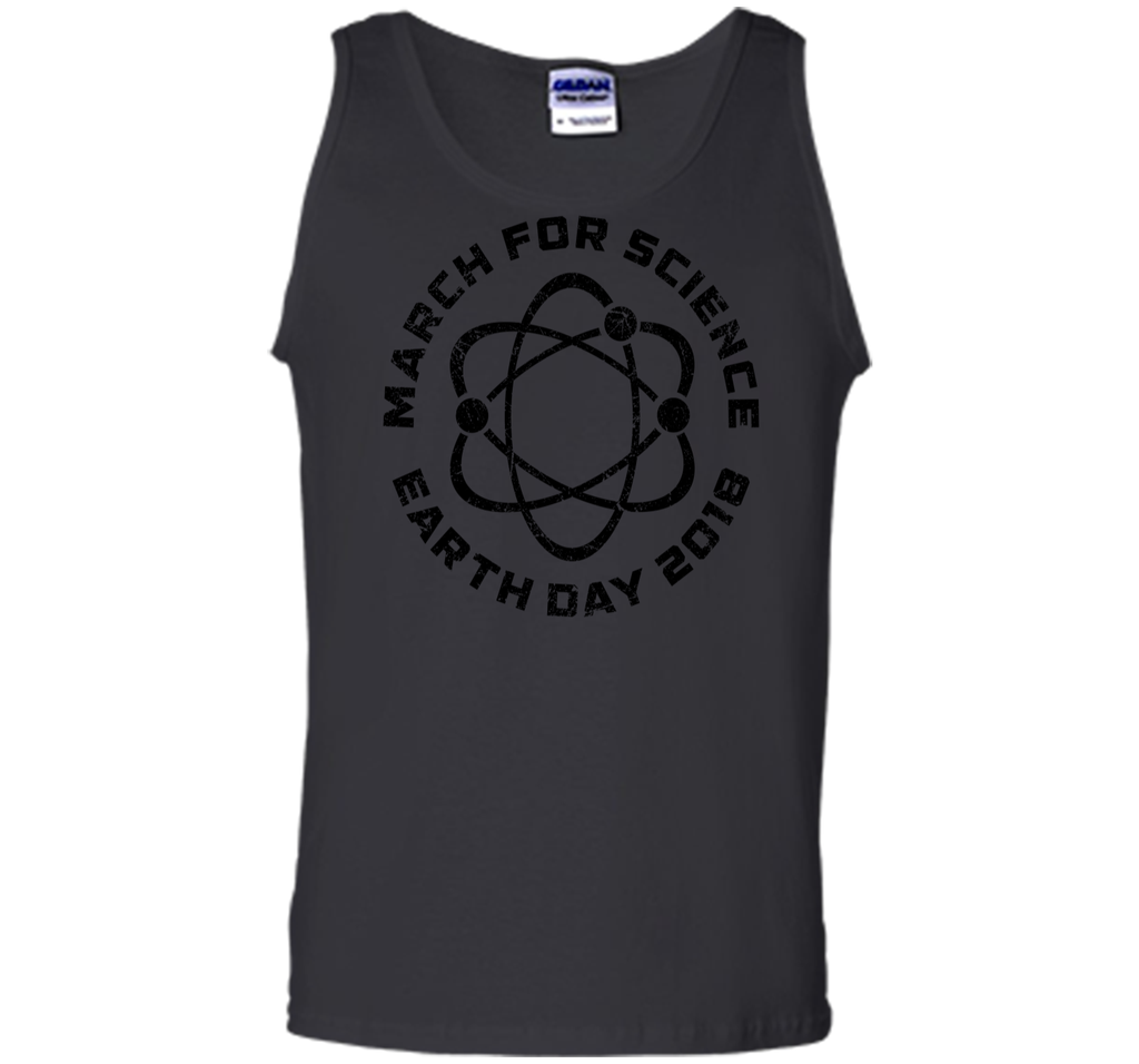 March For Science Shirt Earth Day 2018 Shirt Gift Tank Top