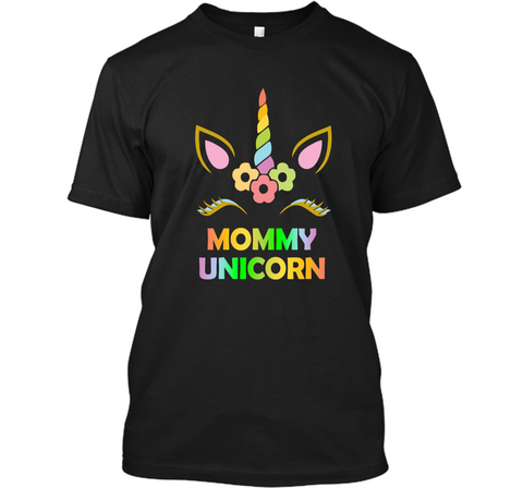 Mommy Unicorn Shirt Cool Mom Mothers Day Gift for Mother Tee Custom Ultra Cotton