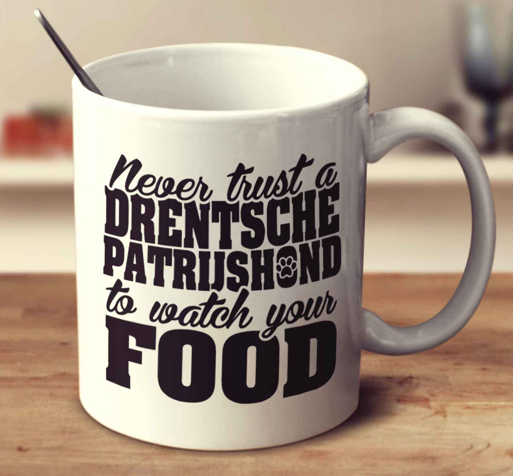Never Trust A Drentsche Patrijshond To Watch Your Food