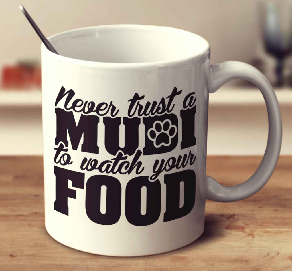 Never Trust A Mudi To Watch Your Food
