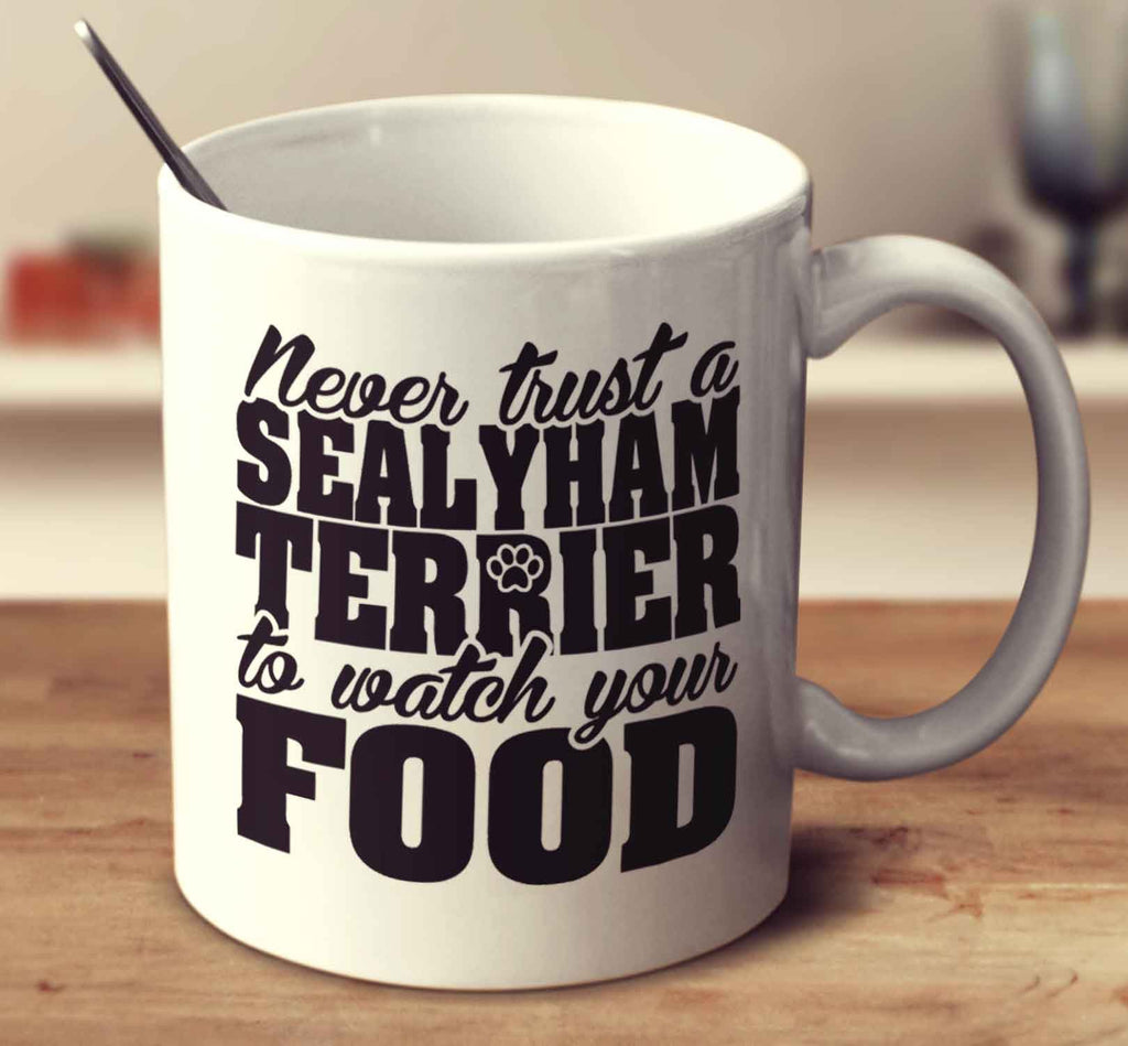 Never Trust A Sealyham Terrier To Watch Your Food
