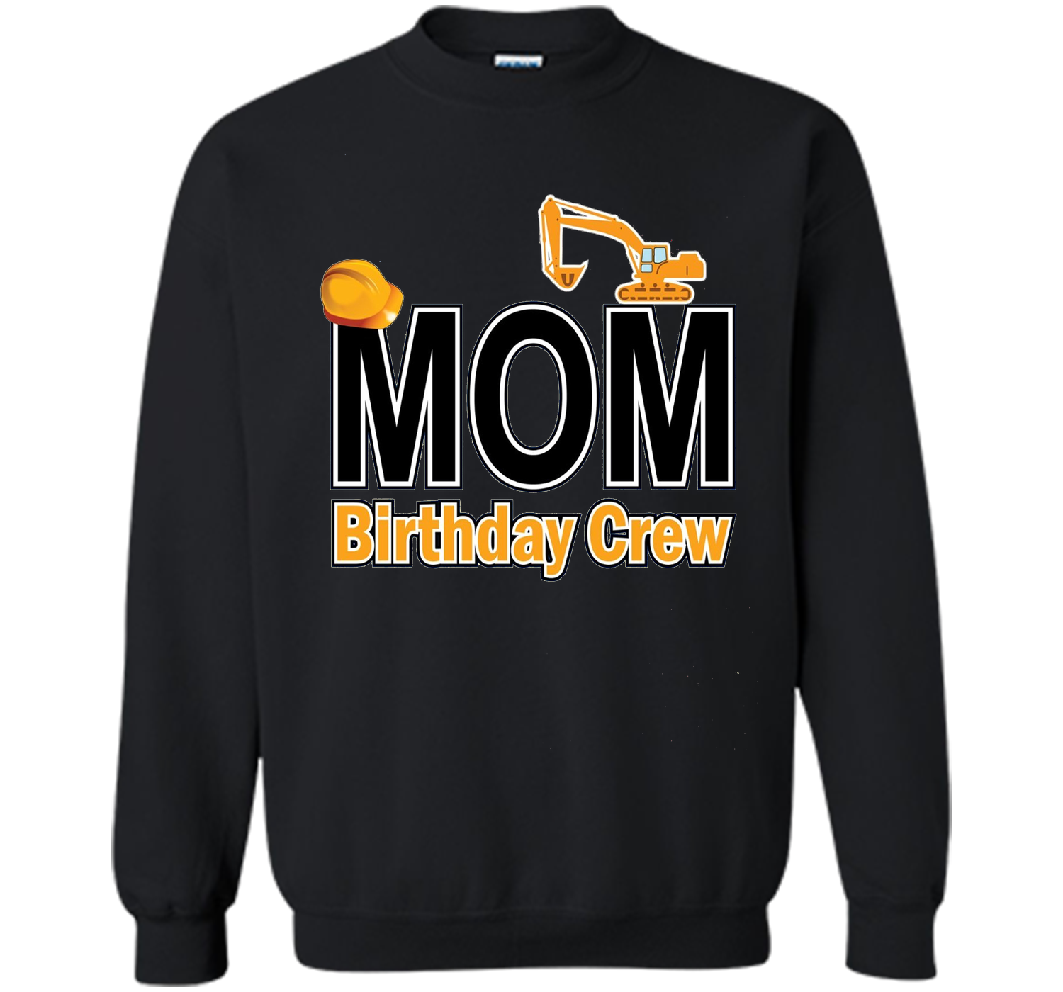 Mom Birthday Crew Shirts For Construction Party Cool Shirt