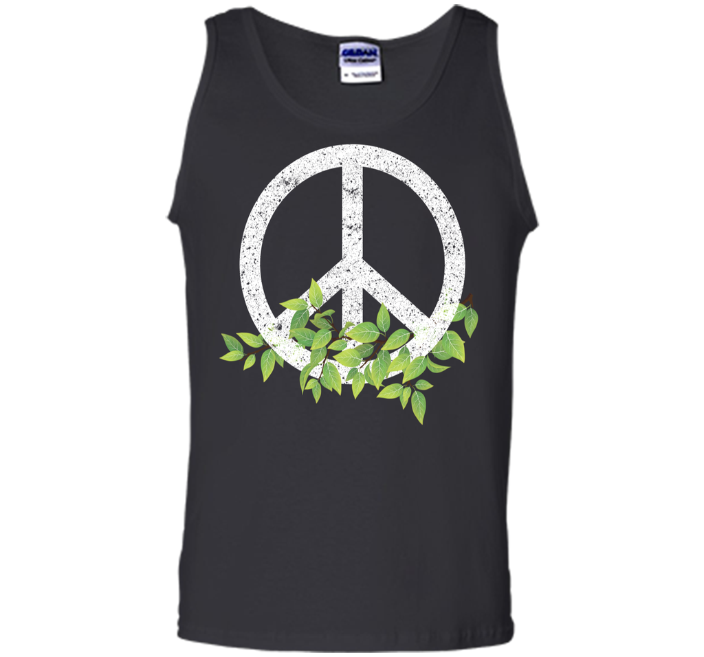 Peace Reduce Reuse Recycle Environmental Earth Day T Shirt Tank Top