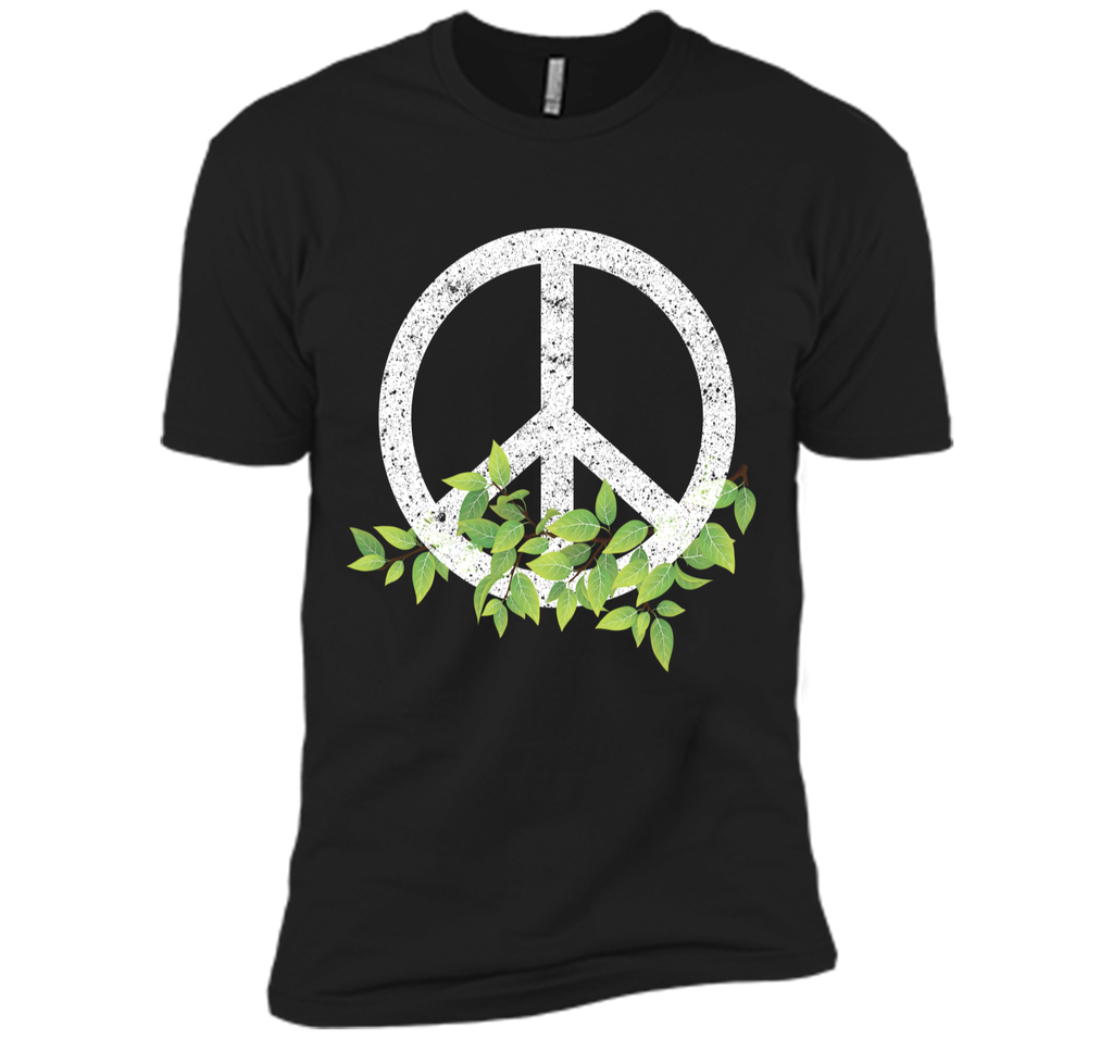 Peace Reduce Reuse Recycle Environmental Earth Day T Shirt Next Level Premium Short Sleeve Tee