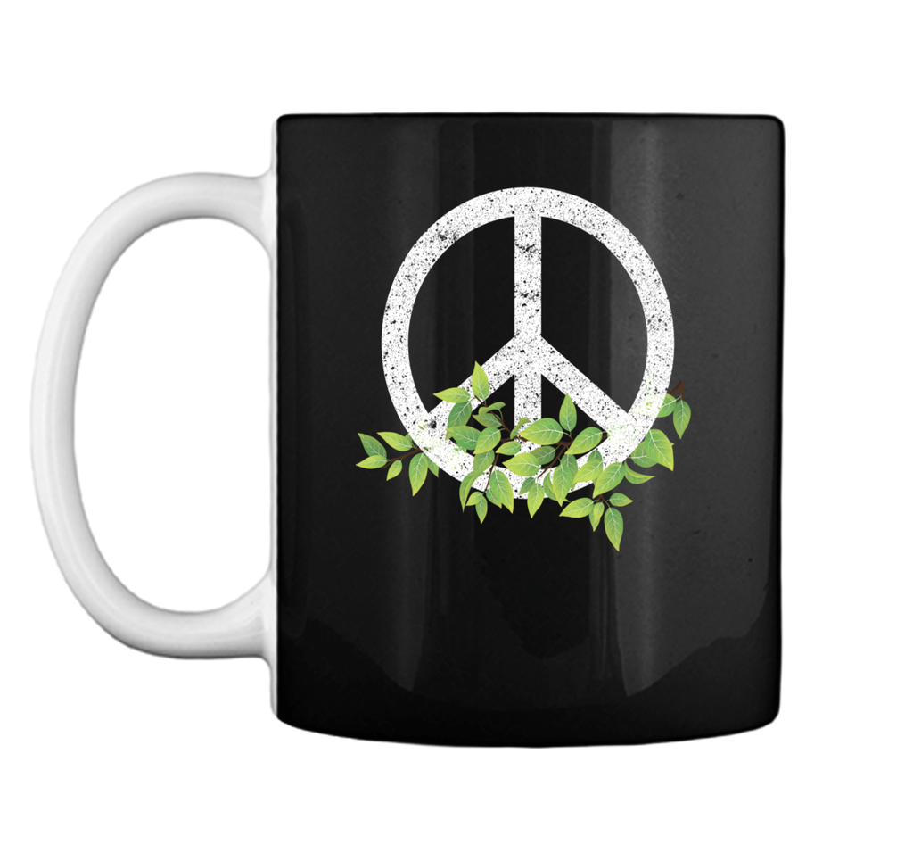 Peace Reduce Reuse Recycle Environmental Earth Day T Shirt Mug