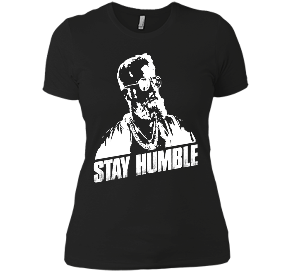 Stay Humble Fitz-Magic Buccaneers Fan T-Shirt Next Level Ladies Boyfriend Tee
