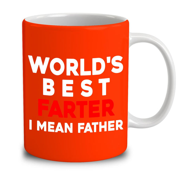 ab1ce84c World's Best Farter I Mean Father Coffee Mug – Pin My Tees