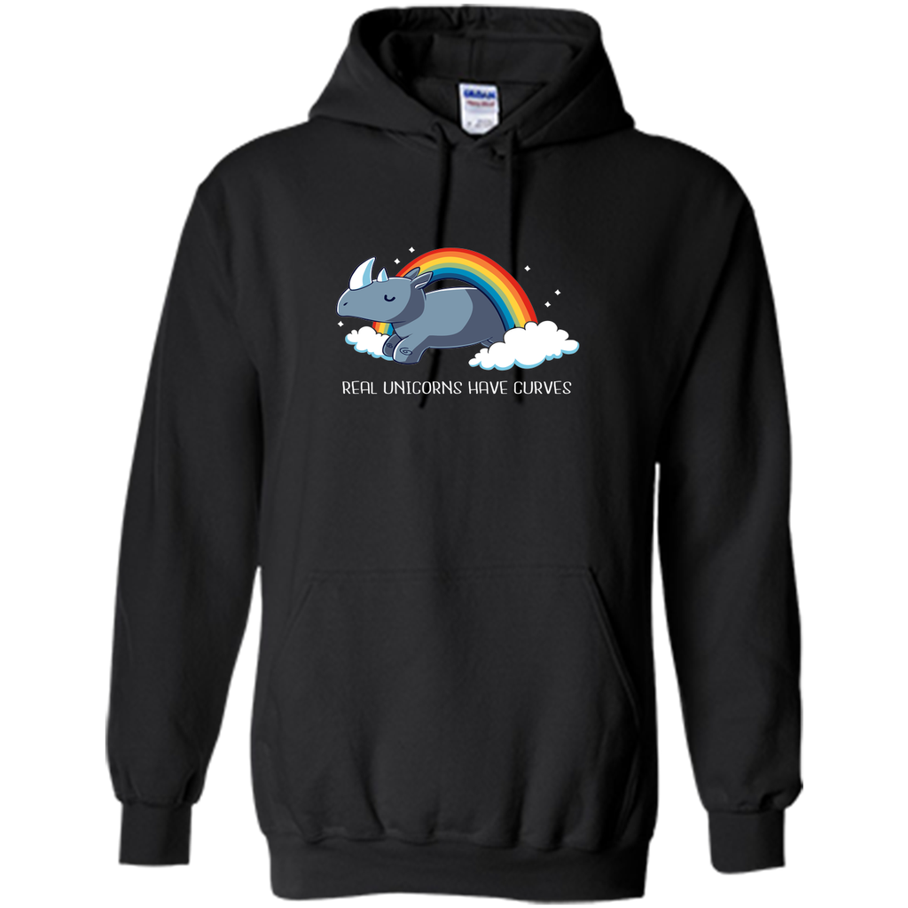 415a4f813ce real unicorn have curves-lovely unicorn t shirt Pullover Hoodie 8 oz ...