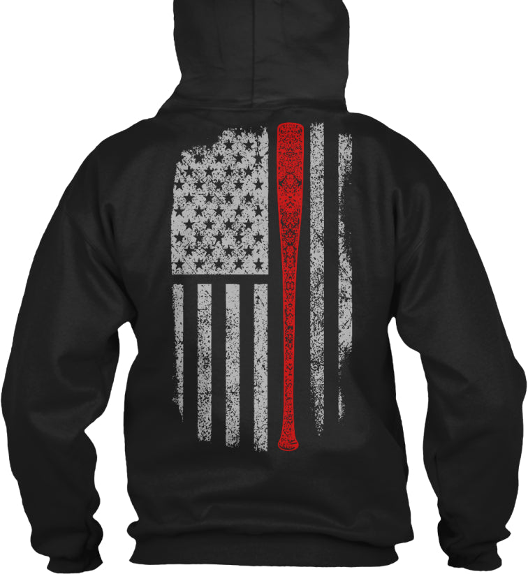 Baseball Flag T's and Hoodies