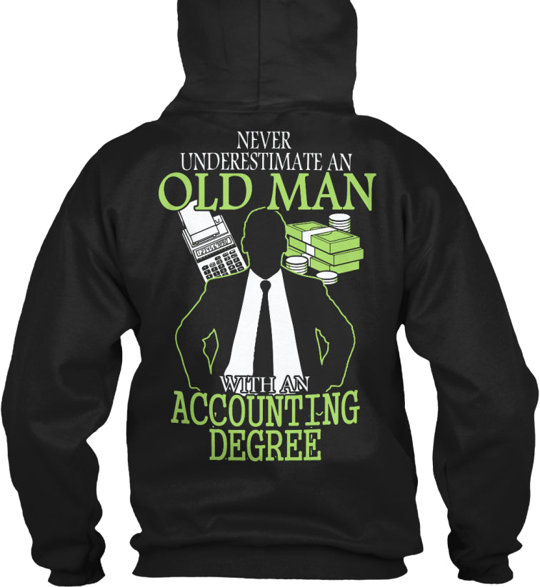 Limited - Accounting Old Man Shirt