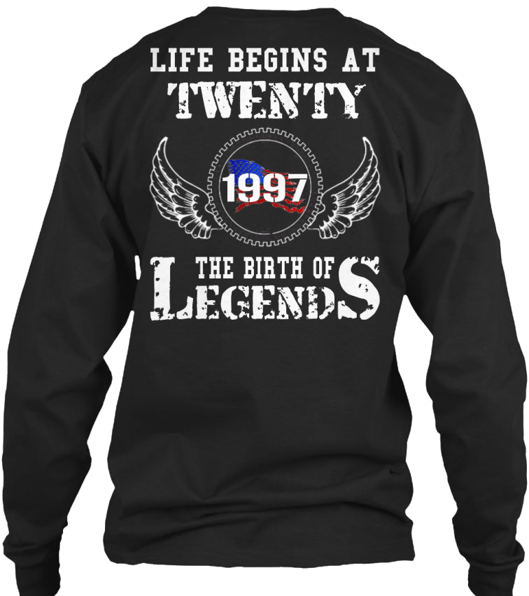 TWENTY - 1997 - THE BIRTH OF LEGENDS
