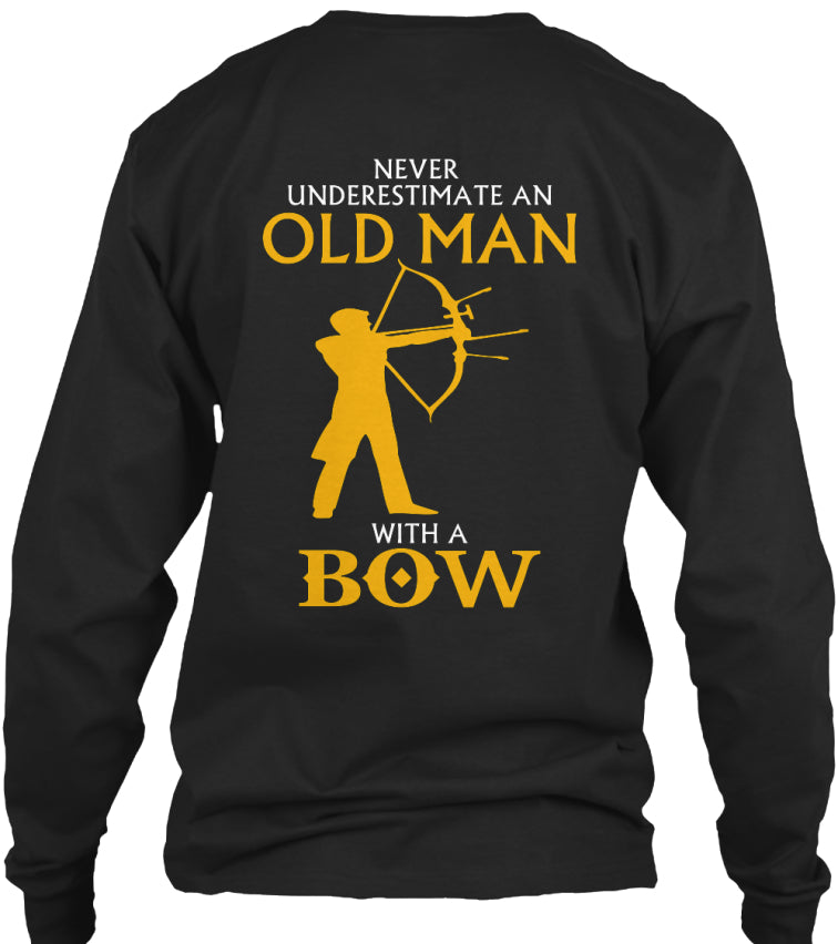 OLD MAN WITH A BOW