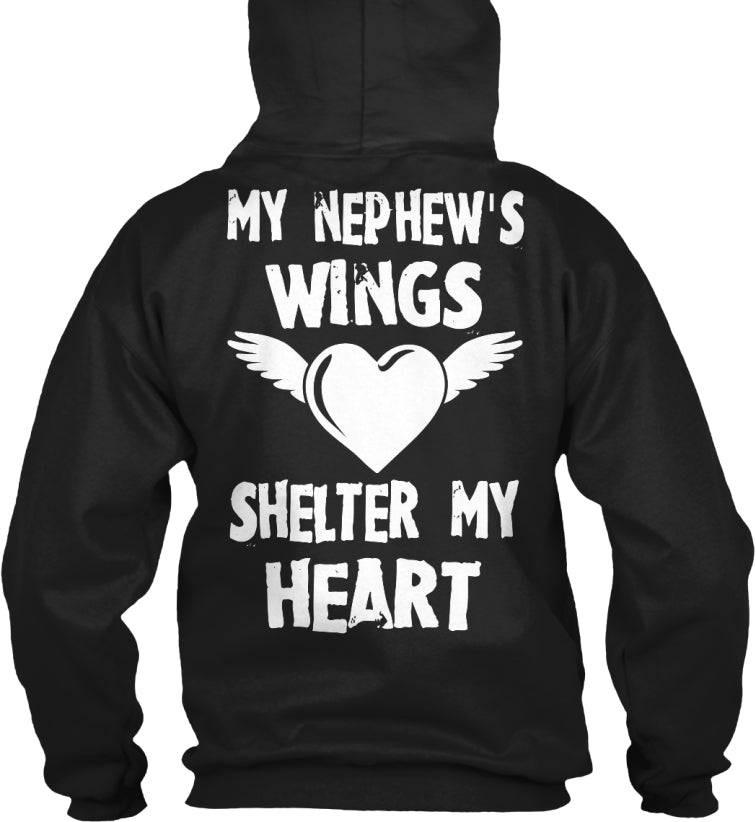 My Nephew's Wings Shelter My Heart