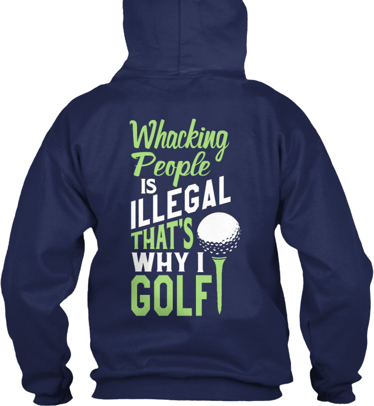 Golfing Fanatics Shirt - Whacking People