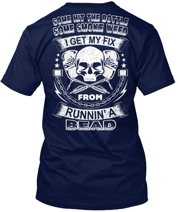Running A Bead Welder Shirt