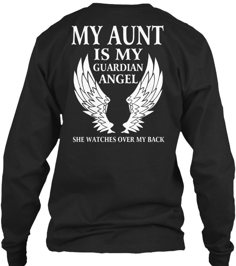 MY AUNT IS MY GUARDIAN ANGEL