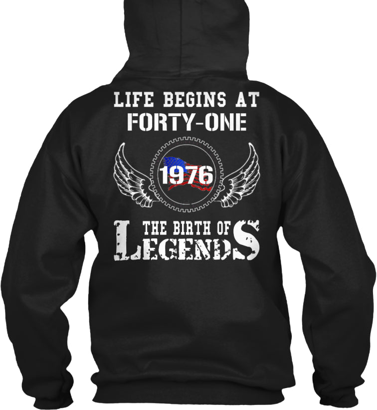 LIFE BEGINS AT - FORTY-ONE