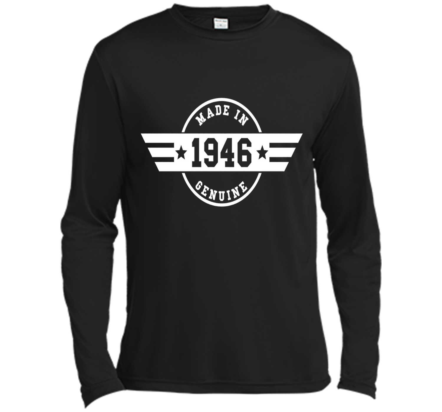 Made In 1946 Genuine 70th Birthday Gift T Shirt Fitted