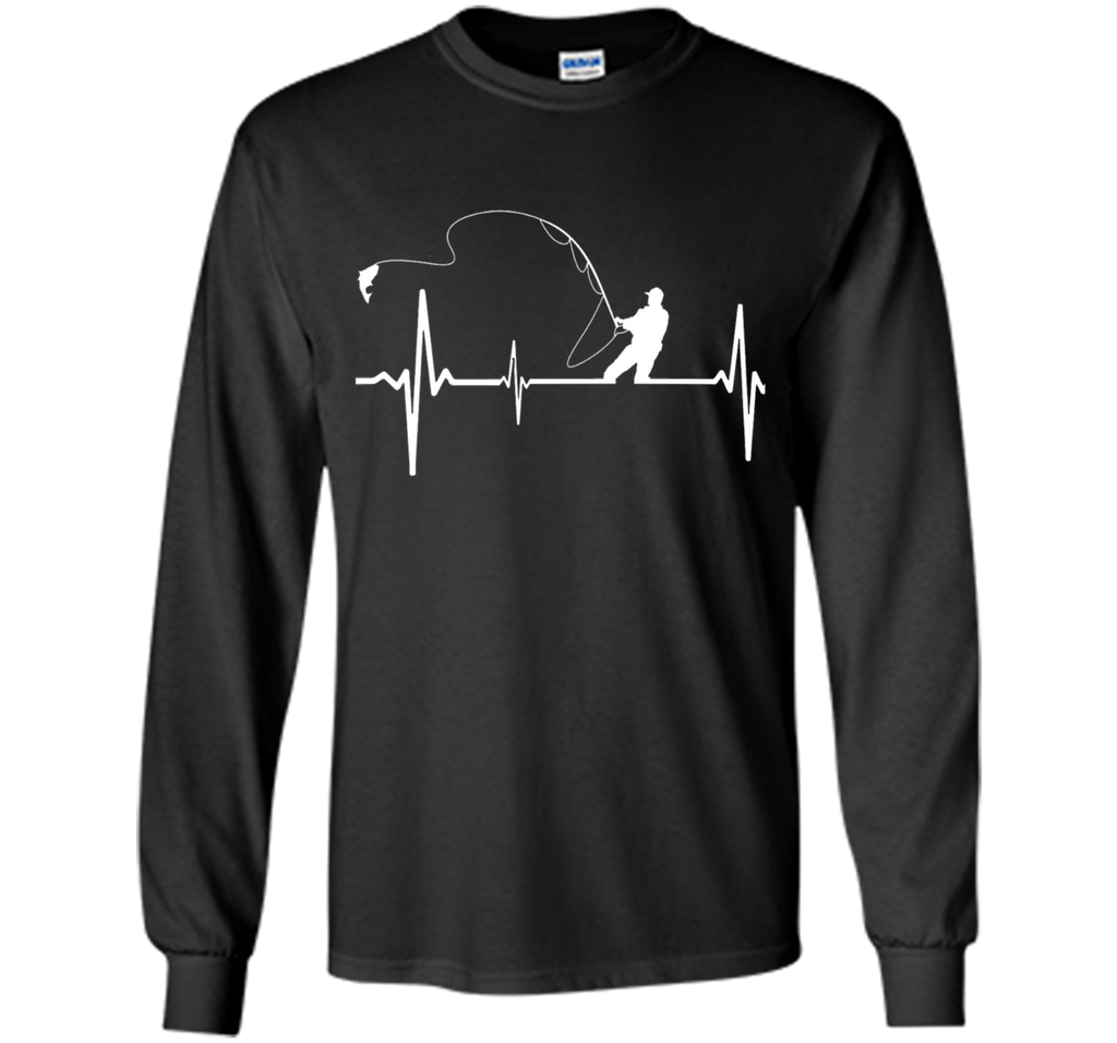 Fishing Heartbeat T-Shirt Perfect Gift Shirt For Fisherman shirt