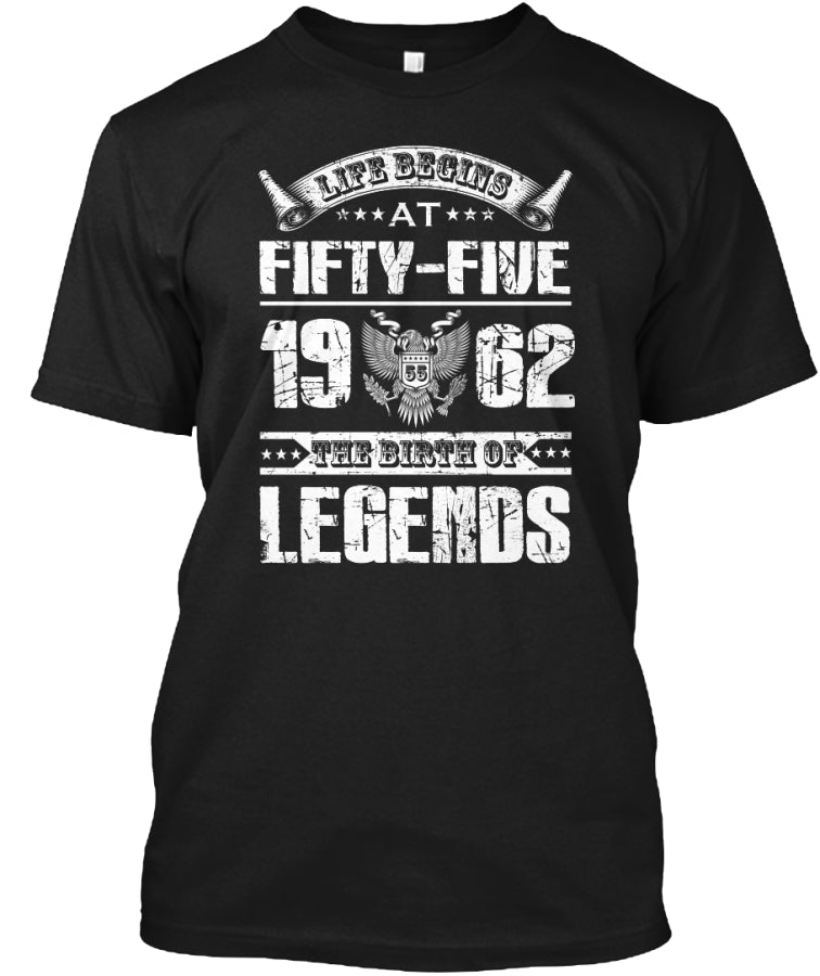 the birth of legends at fifty five 1962