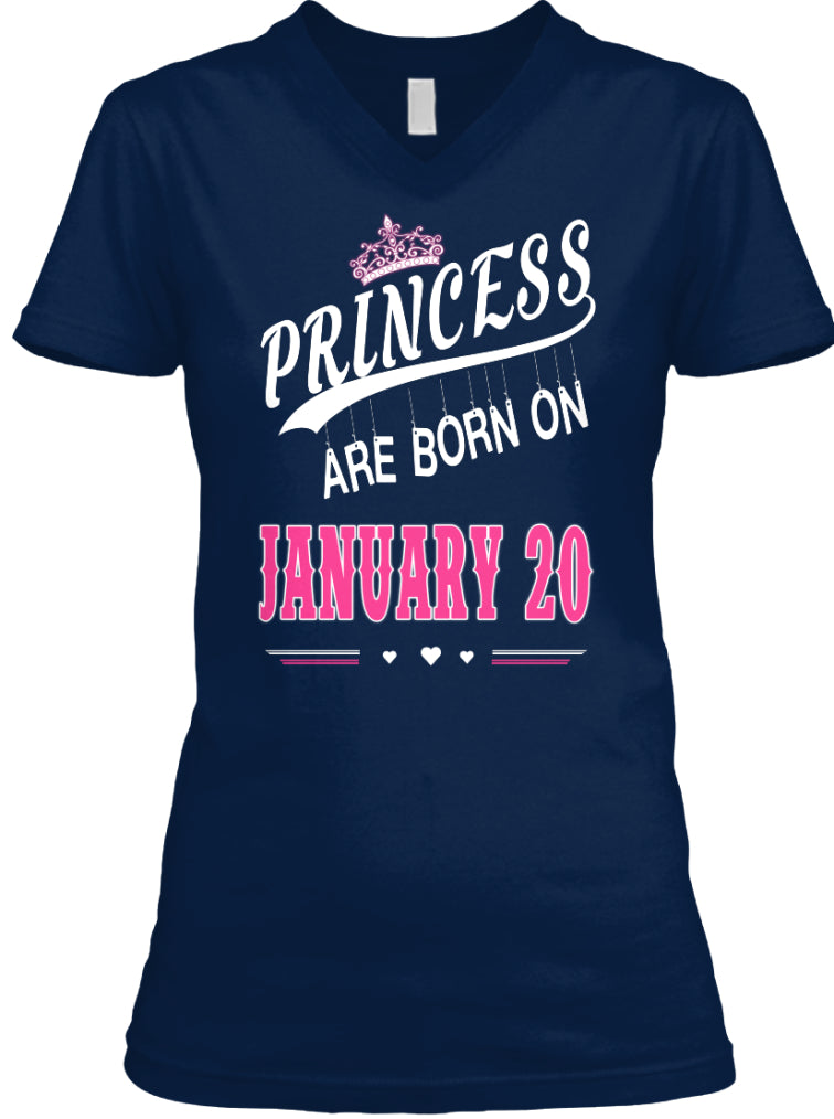 Princess are born on January 20