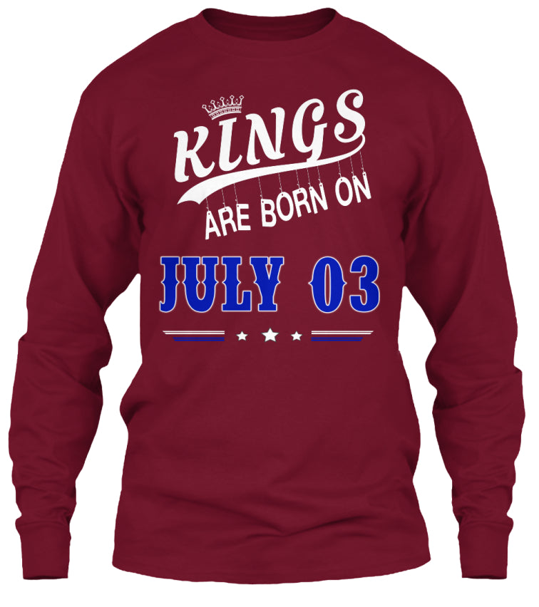 Kings are born on July 03