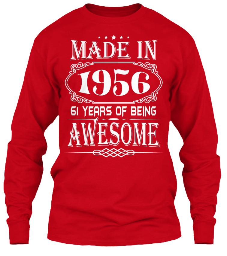 MADE IN 1956 - 61th BIRTHDAY