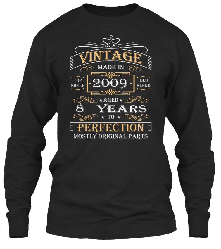 Vintage Age 8 Years 2009 Perfect 8th Birthday Gift