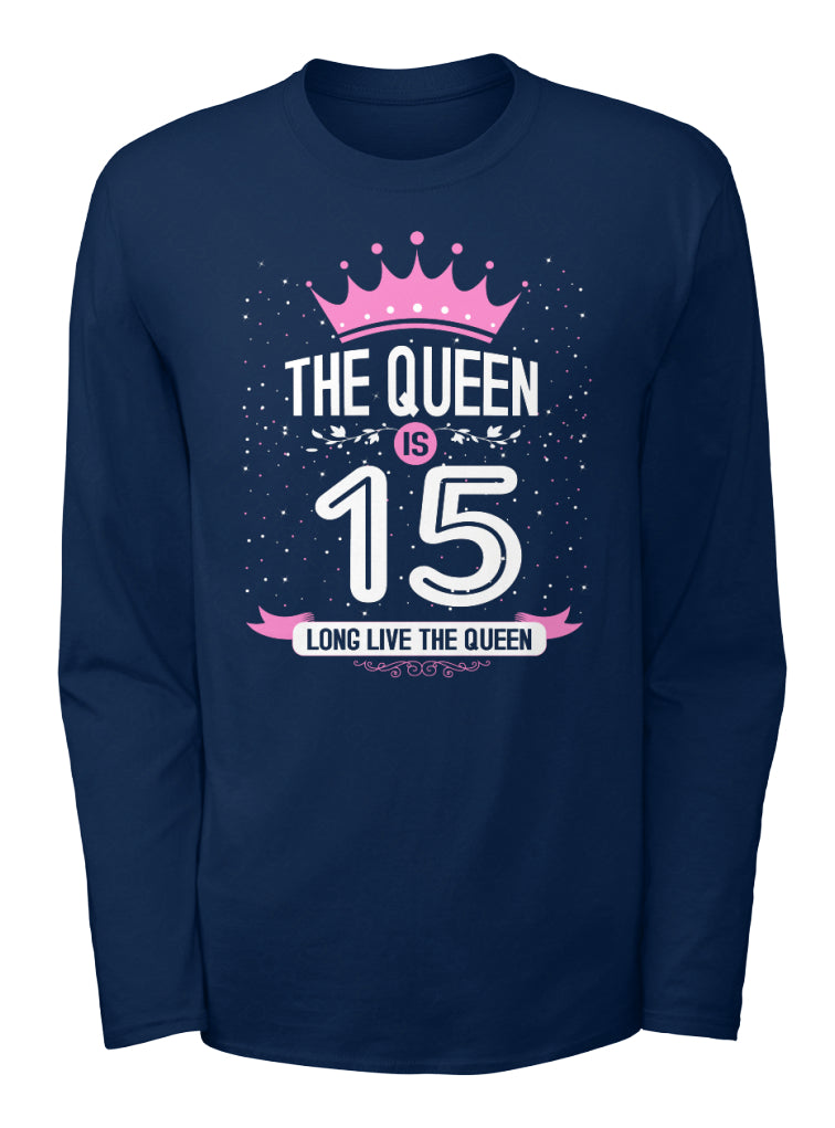 WOMAN 15 YEAR OLD - BIRTHDAY - THE QUEEN