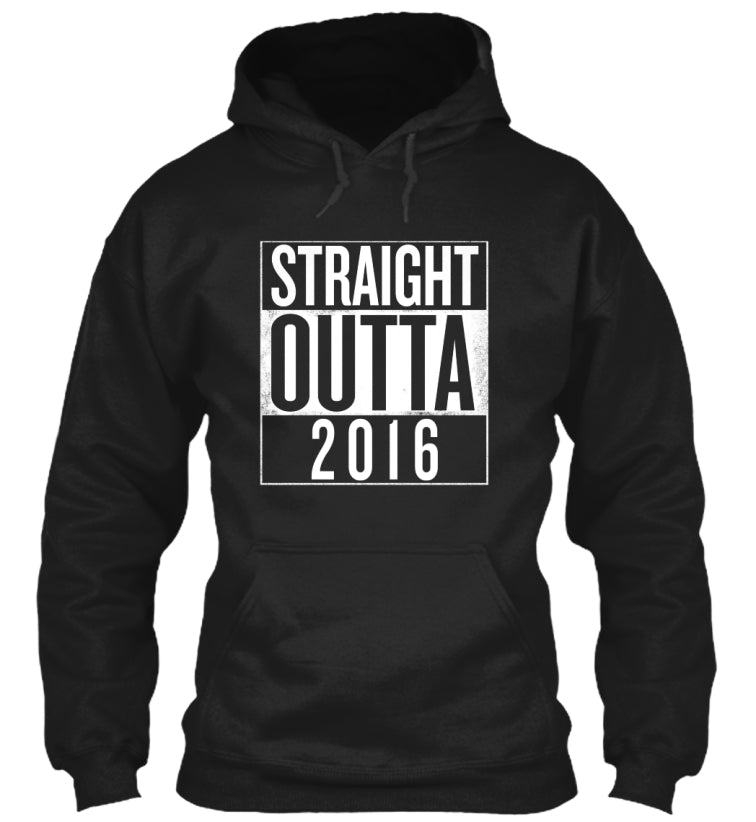 Straight outta 2016 | 2017 NEW YEARS TEE