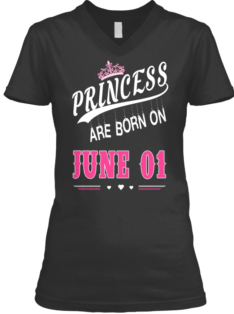 Princess are born on June 01