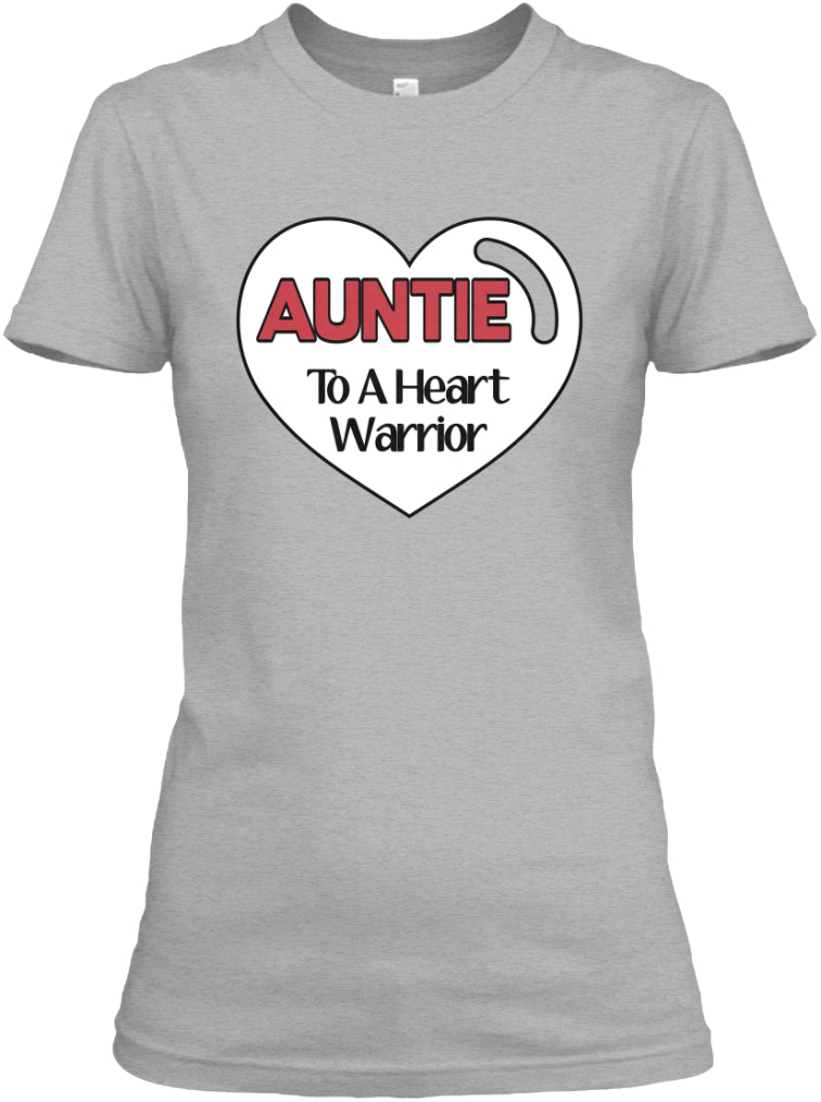 Auntie to a heart warrior -CHD AWARENESS