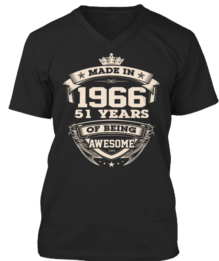 Made in 1966-51years being awesome