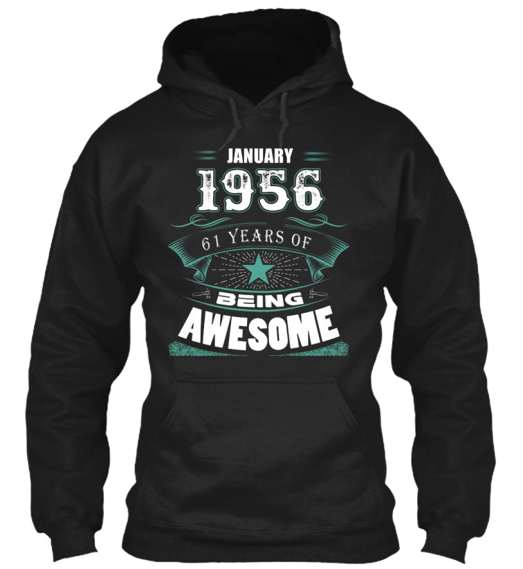 JANUARY 1956-61 Years Of Being Awesome