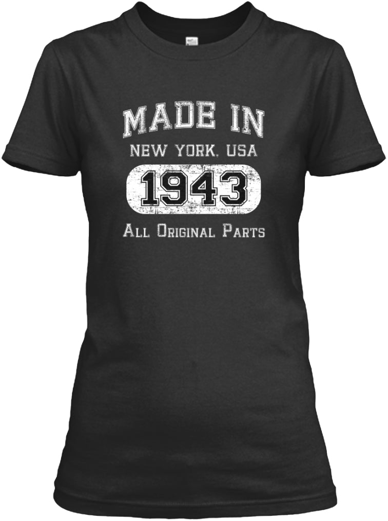 NEW YORK ALL ORIGINAL PARTS 1943