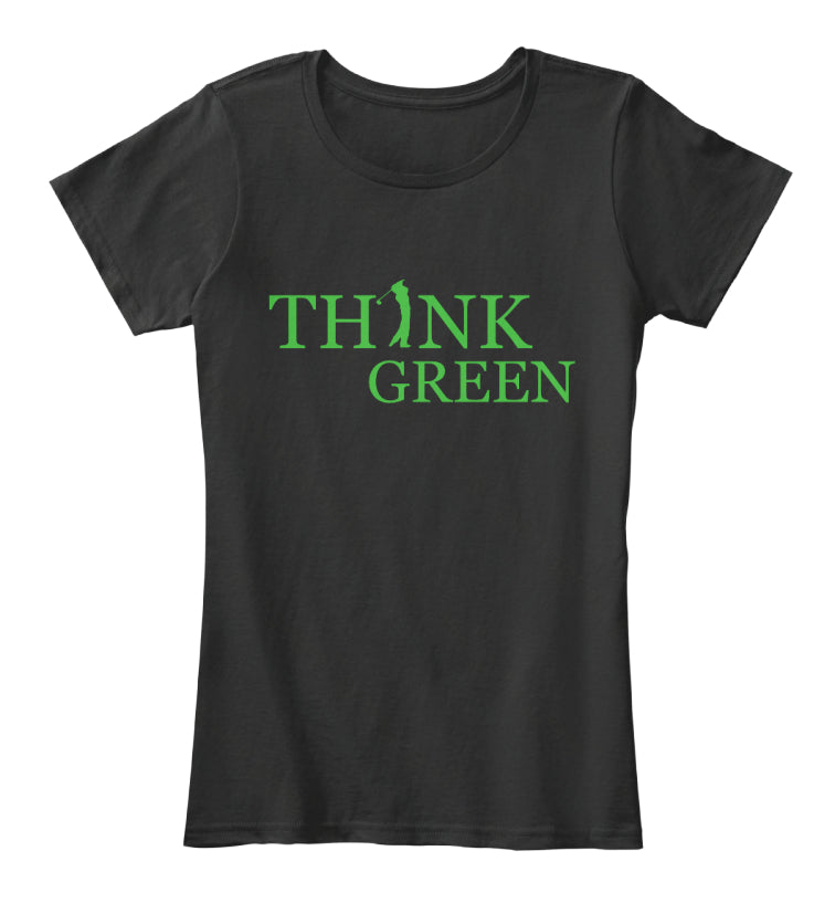 Think Green Golfer shirt
