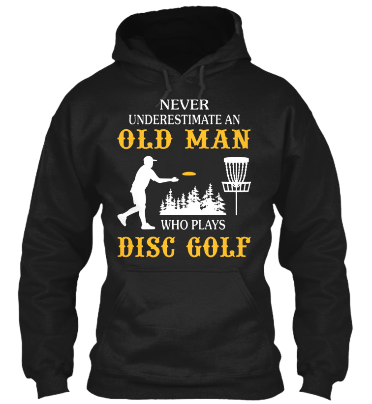 OLD MAN WHO PLAYS DISC GOLF