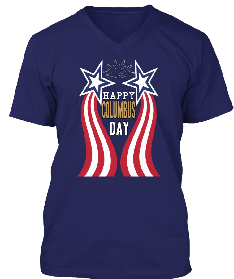 USA T-shirts COLUMBUS DAY 2016