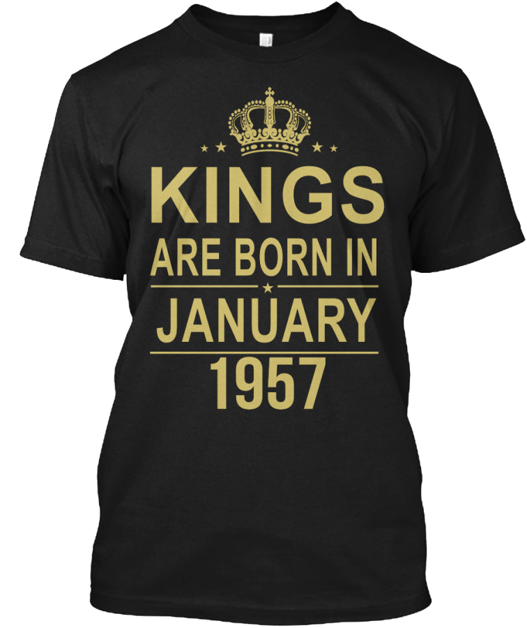 Kings are born in January - 1957