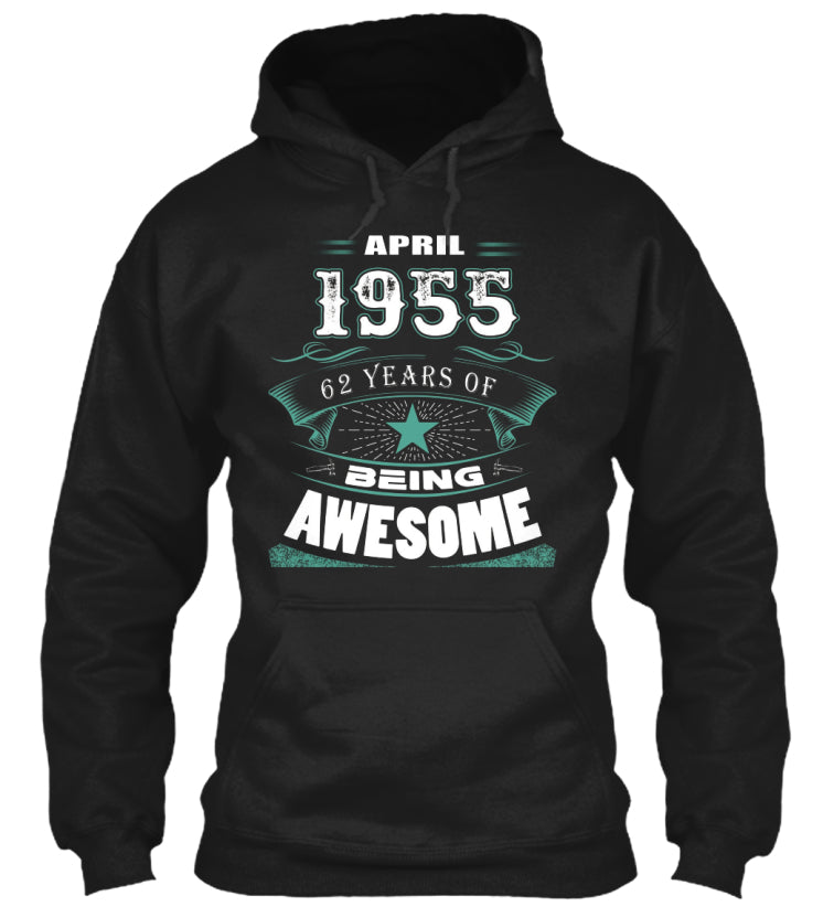 APRIL 1955-63 Years Of Being Awesome